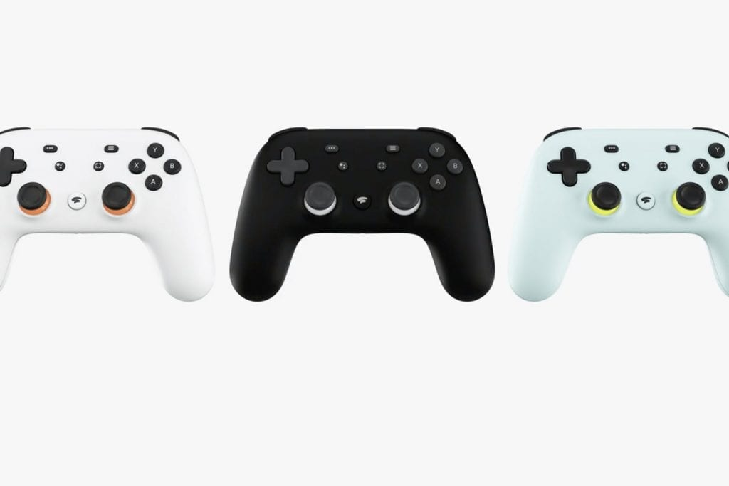 Google Stadia Controller Colors
