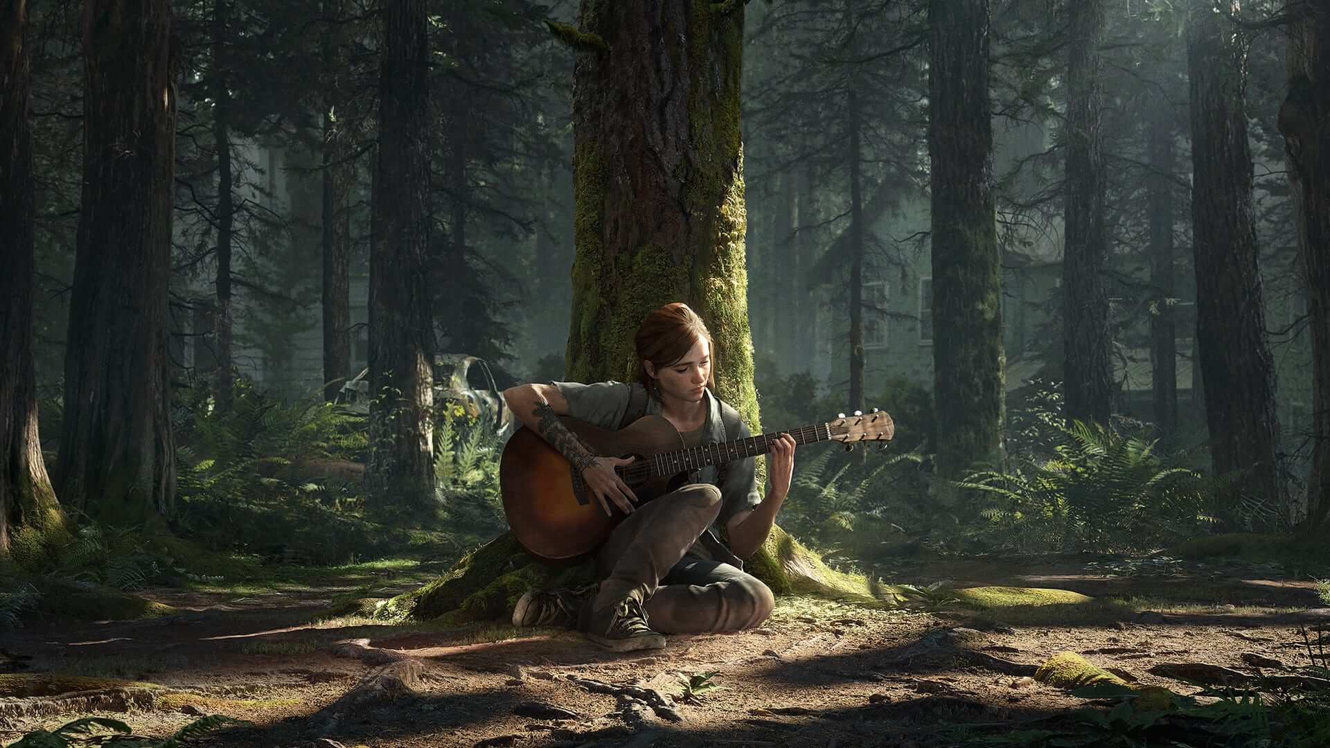 the last of us part 2 dynamic theme