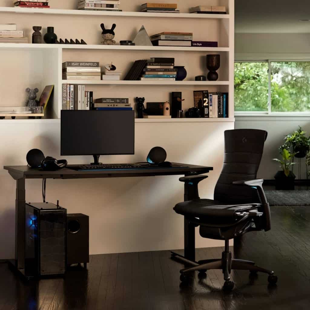 herman miller nevi gaming desk